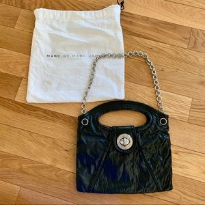 Marc by Marc Jacobs Totally Turnlock Patent Purse